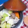 タジン鍋の温野菜