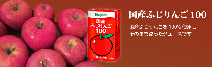 国産ふじりんご100